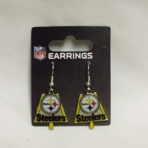 Steeler Goalpost Earrings