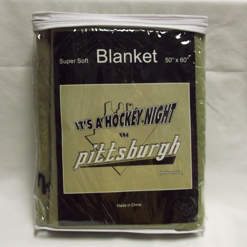 Hockey Night Blanket